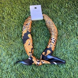 Forever 21 Floral & Animal Print Neck & Head Scarf